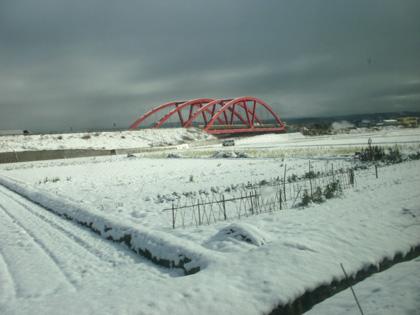 鳥取にて電車から見た風景
