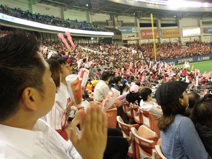 千葉マリンスタジアム カープ戦02