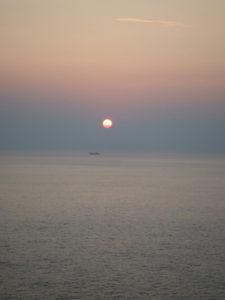足摺岬の朝日