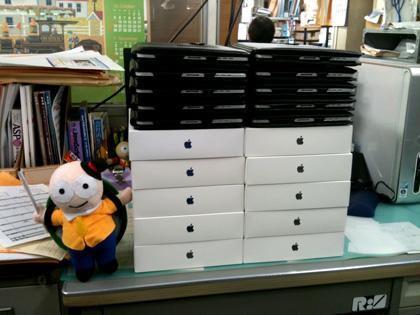 iPadたち