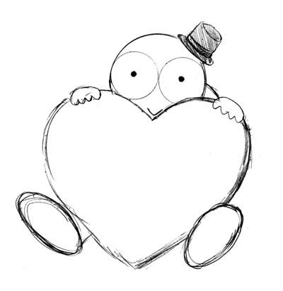 2月かめくんバレンタイン(元画像)