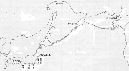 元文の黒船 関連図