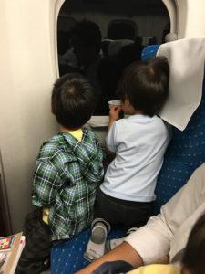京都鉄道博物館へのぞみで行く