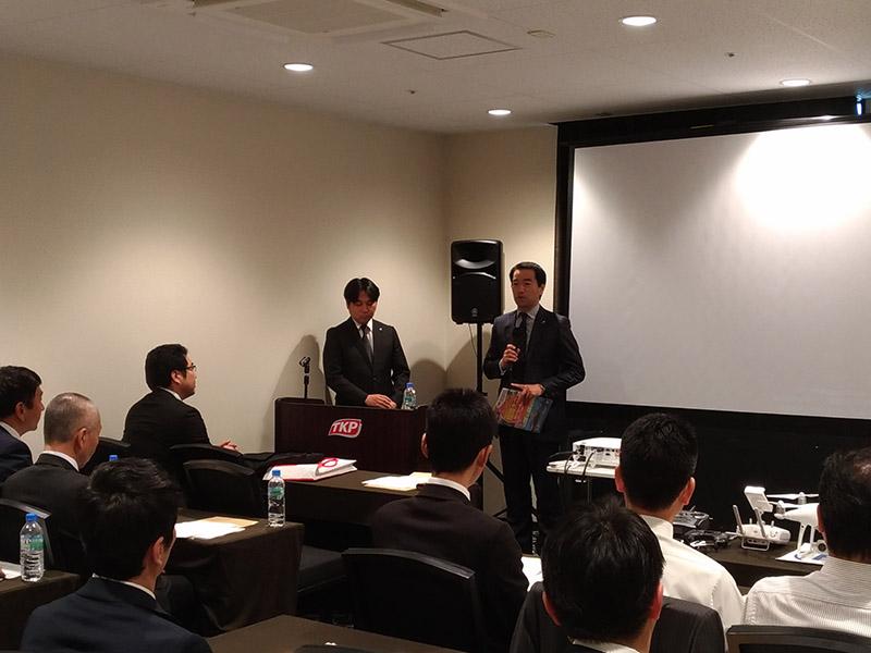 九州地方協議会会長松永英明氏をお招きし福岡大会のPR