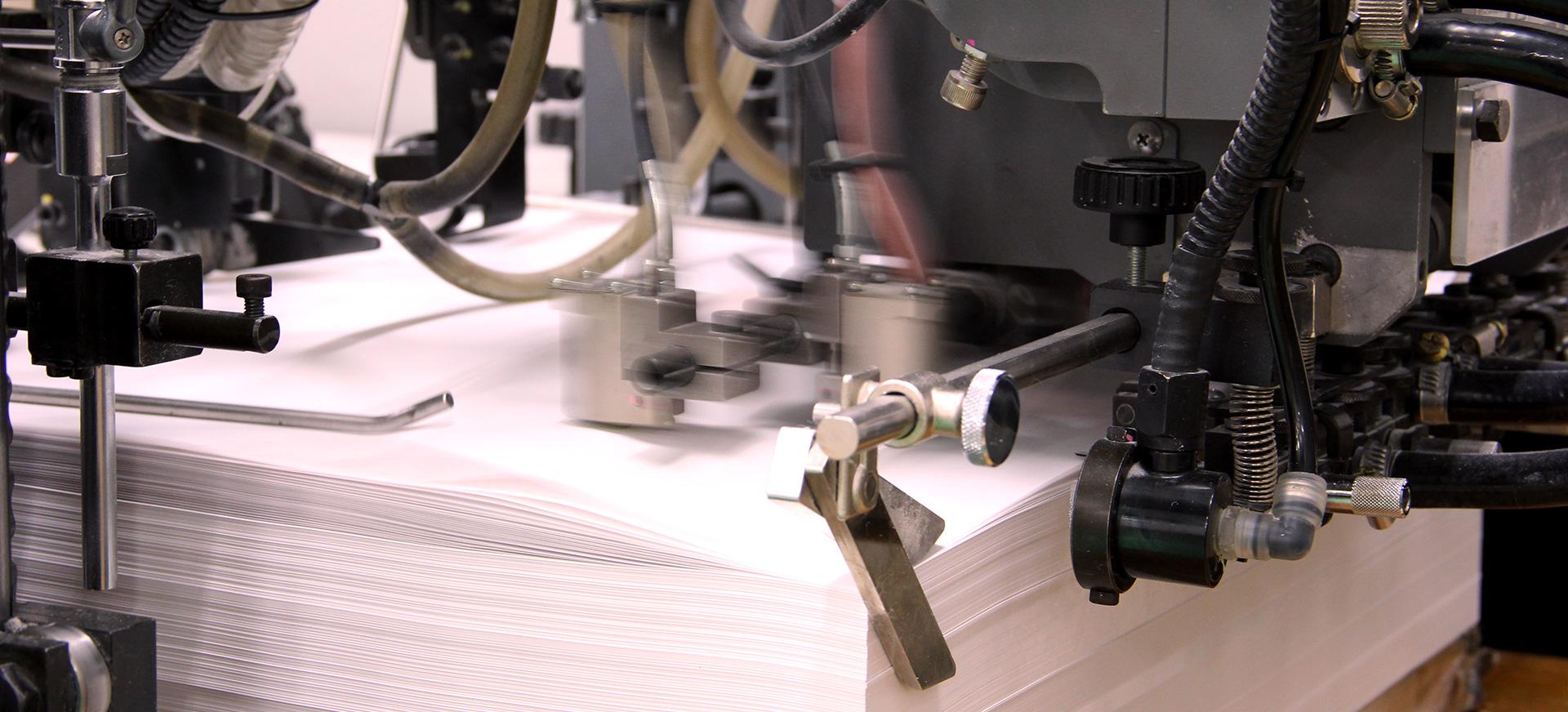 ニシキプリントの印刷機