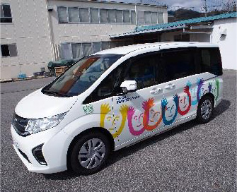 日本  財団様より福祉車両の寄贈 ホンダステップワゴン