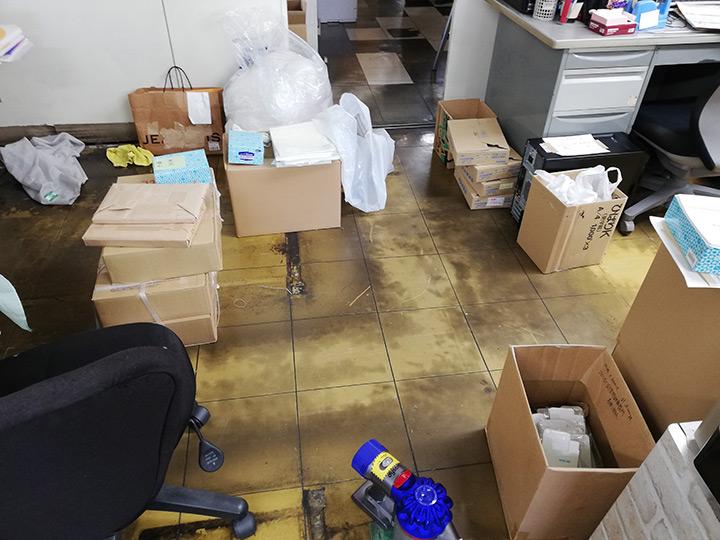 ニシキプリント本社の大掃除2