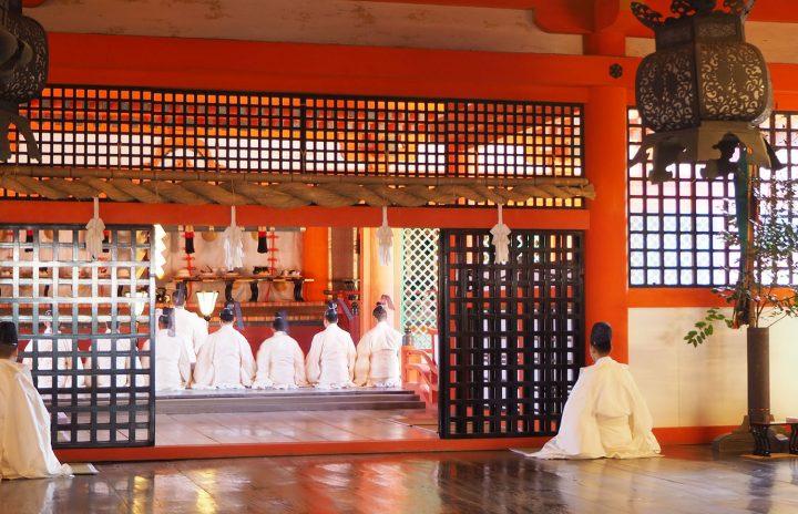 嚴島神社の奉祝