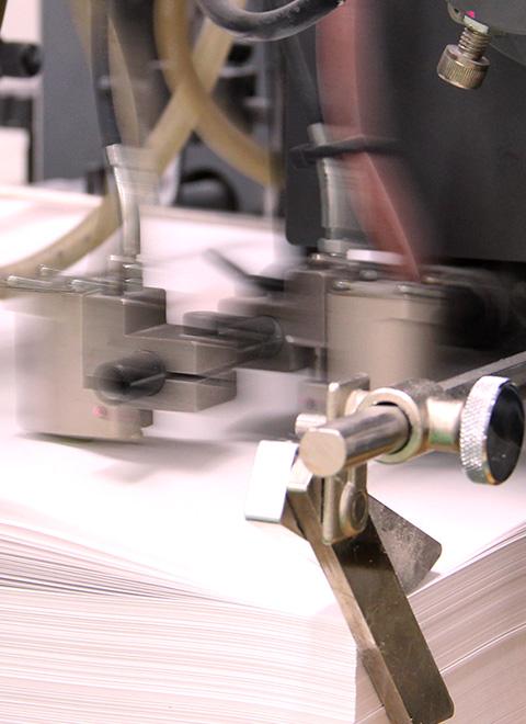 ニシキプリントの印刷風景