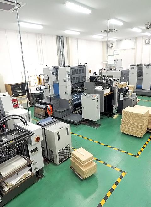 東広島工場印刷場